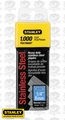 "Stanley TRA704SST 1000pk 1/4"" Stainless Steel Narrow Crown Staples"