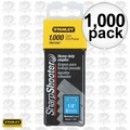 "Stanley TRA704T 1,000pk 1/4"" Heavy Duty Staples"