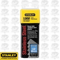 Stanley TRA706SST 3/8'' Stainless Steel Narrow Crown Staples