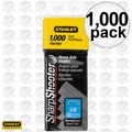 "Stanley TRA706T 1000pk 3/8"" Heavy Duty Staples"
