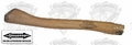 "Stiletto STL-HDL-C 18"" Curved Hickory Replacement Handle"