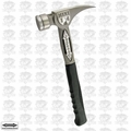 "Stiletto TBM14RMS 14oz TiBone Milled Face Hammer w/ 15-1/4"" Straight Handle"