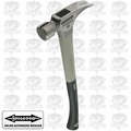 "Stiletto TI16MC-P 16 oz. Titanium Milled/Curved 18"" Fiberglass Hammer"