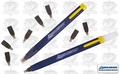 Swanson CP216 2pk Always Sharp Refillable Carpenters Pencils 'Flat Type'