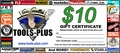 Tools Plus  $10 Gift Certificate