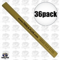 Tools Plus Own Merchandise P 36pk Carpenter's Pencil - Flat so it don't Roll