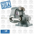 "Wilton 10036 8"" 800S Machinists' Bench Vise w/ Swivel Base"