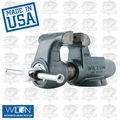 "Wilton 10076 4"" 400N Machinists' Bench Vise w/ Stationary Base"