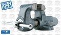 "Wilton 10096 5"" 500N Machinists' Bench Vise w/ Stationary Base"