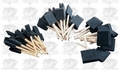 Woodstock D2024 Foam Brush Set