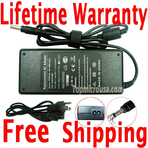 hp compaq nx9600 ac adapter charger power supply cord hp compaq hp compaq nx9600 ac adapter charger power supply cord