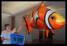 Flying Clownfish Air Swimmer