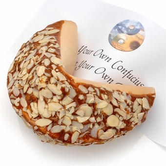 Almond Lovers Personalized Giant Fortune Cookie