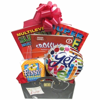 Boredom Buster Get Well Gift Basket