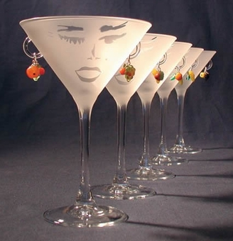 Carmen Martini Glass