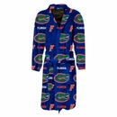 College Logo Highlight Mens Microfleece Bathrobe