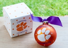Personalized College Logo Ornaments
