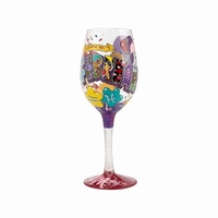 February Birthday Wine Glass by Lolita�