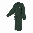 Green Bay Packers Mens Ultra Plush Green Bathrobe Manufactured by Concepts Sport
