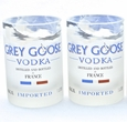 Grey Goose Rocks Glasses - Boxed Set of 2