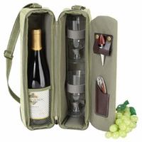 Hamptons Insulated Sunset Deluxe Wine Carrier