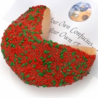 Holly & Berries Giant Fortune Cookie