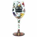 Kentucky Derby Wine Glass by Lolita�