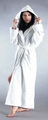 Ladies Ultra Hooded Full Length Terrycloth Robe