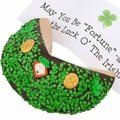 Lady Fortunes� Saint Patrick's Day Personalized Giant Fortune Cookie