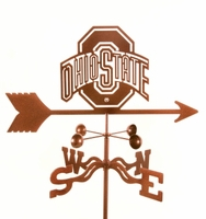 Licensed College Logo Weathervanes