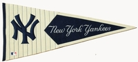 Major League Baseball Vintage Wool Classic Pennants