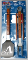 MLB 3 Piece Sportula® BBQ Tool Sets