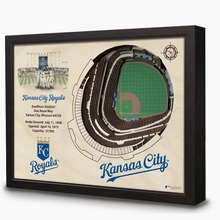 MLB Ballparks 3-D Handcrafted Wall Art