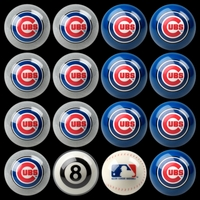 MLB Billiard Ball Sets