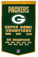 National Football League Vintage Wool Dynasty Banners