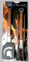 Officially Licensed NCAA 3 Piece Sportula� BBQ Tool Sets