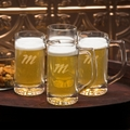 Personalized Tavern Beer Mugs (Set of 4)