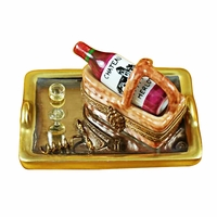 Wine and Bar Limoges Boxes by Rochard™