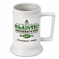 Slainte Classic Personalized Irish Stein
