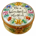 "Rochard ""To A Wonderful Mother"" Limoges Box by Rochard�"