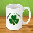 Top O The Morning Personalized Irish Coffee Mug