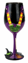 Wicked Witch 7th Wine Glass by Lolita�