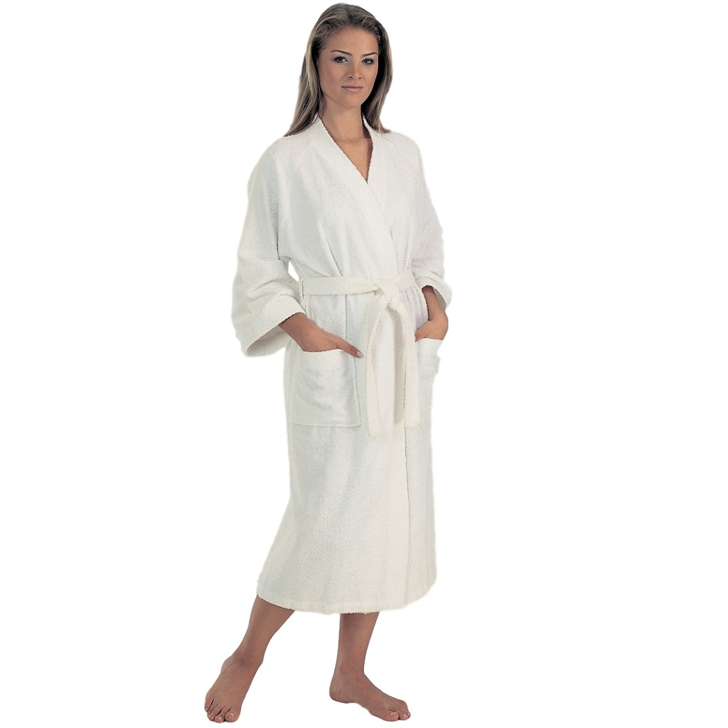 Bathrobe: Women's Lightweight Terry Cloth Bathrobe