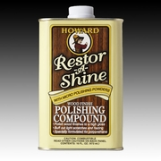 Howard Restor-A-Shine Cream 16oz for wood restoration