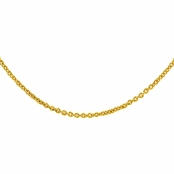 18 Inch Necklace Chain - Gold Plated