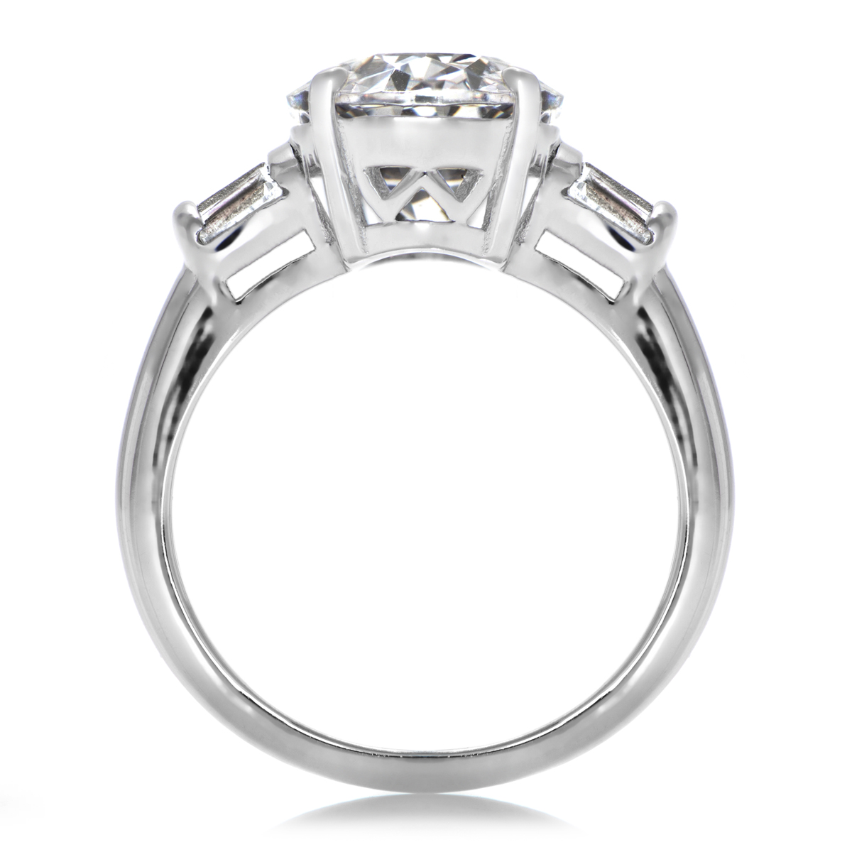 Ana s Simple Oval Cut Engagement Ring 6 Carats