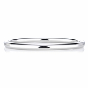 Andreina's Classic Silver Bangle Bracelet
