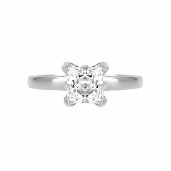 Annie's Promise Ring - .5 CT Princess Cut CZ