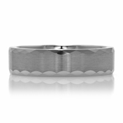 Ashton's Engravable Plain Tungsten Ring - 5 mm
