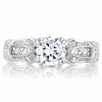 Babette's .75 CT CZ Engagement Ring